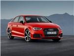 Audi RS3 Sedan 2017 вид спереди
