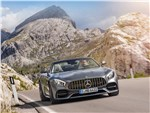 Mercedes-AMG GT C Roadster 2017 вид спереди