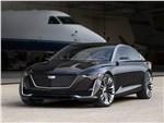 Cadillac Escala Concept 2016 вид спереди сбоку