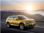 Volkswagen Atlas 2018 вид спереди сбоку