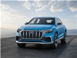 Audi Q8 concept 2017 вид спереди