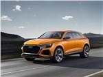 Audi Q8 Sport Concept 2017 вид спереди