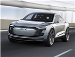 Audi e-tron Sportback Concept 2017 вид спереди