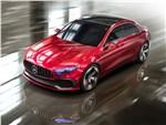 Mercedes-Benz A Sedan - Mercedes-Benz A Sedan Concept 2017 вид спереди сверху