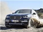 BMW X3 - BMW X3 2018 вид спереди