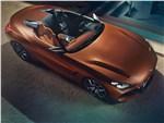 BMW Z4 Concept 2017 вид сверху