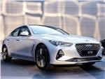 Hyundai Genesis G70 - Genesis G70 2018 вид спереди