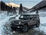 Jeep Wrangler - Jeep Wrangler Unlimited 2018 вид спереди