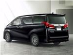 Toyota Alphard - Toyota Alphard 2018 вид сзади