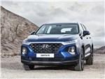 Hyundai Santa Fe - Hyundai Santa Fe 2019 вид спереди