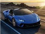 Lamborghini Huracan Performante Spyder 2019 вид спереди