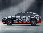 Audi e-tron Concept 2018 вид сбоку