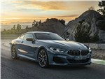 BMW 8 series - BMW 8-Series Coupe 2019 вид спереди