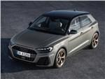 Audi A1 Sportback 2019 вид спереди сверху