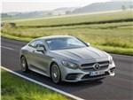Mercedes-Benz S-class Coupe - Mercedes S 560 Coupe 4matic 2018: вид спереди