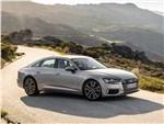 Audi A6 - Audi A6 2019 вид спереди сбоку