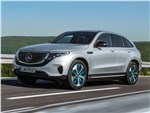 Mercedes-Benz EQC - Mercedes-Benz EQC 2020 вид спереди сбоку