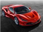 Ferrari F8 Tributo - Ferrari F8 Tributo 2020 вид спереди сверху