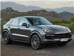 Porsche Cayenne Coupe - Porsche Cayenne Coupe 2020 вид спереди