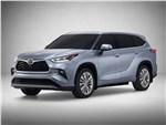 Toyota Highlander - Toyota Highlander 2020 вид спереди