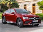 Mercedes-Benz GLC Coupe - Mercedes-Benz GLC Coupe 2020 вид спереди