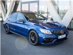 Mercedes-Benz C-Class AMG - Mercedes-Benz C63 S AMG Sedan 2019 вид спереди