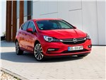 Opel Astra - Opel Astra 2016 вид спереди