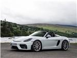 Porsche 718 Spyder - Porsche 718 Spyder 2020 вид спереди