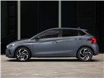 Hyundai I20 - Hyundai i20 (2021) вид сбоку