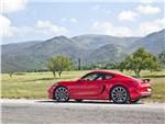 Porsche Cayman S 2013 вид сбоку