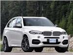 BMW X5 М50d 2014 вид спереди