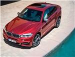 BMW X6 2015 вид сверху