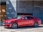 Mercedes-Benz CLS-Class - Mercedes-Benz CLS-Klasse 2015 вид спереди сбоку
