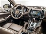Porsche Cayenne S - Porsche Cayenne S 2014 салон