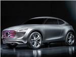 Mercedes-Benz G-Code concept 2014 вид спереди сбоку