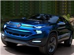 Fiat FCC4 concept 2014 вид сбоку спереди