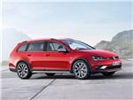 Volkswagen Golf Alltrack 2015 вид сбоку