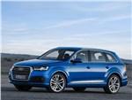 Audi Q7 - Audi Q7 2015 вид спереди сбоку
