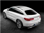 Mercedes-Benz GLE Coupe 2016 вид сверху
