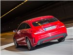 Mercedes-Benz CLA Shooting Brake 2016 вид сзади