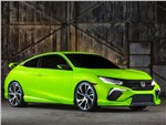 Honda Civic Concept 2015 вид спереди сбоку