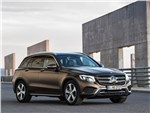 Mercedes-Benz GLC - Mercedes-Benz GLC 2016 вид спереди сбоку