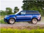 Land Rover Range Rover Sport - Land Rover Range Rover Sport SVR 2015 вид сбоку