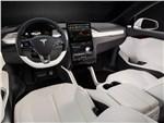 Tesla Motors Model X - Tesla Model X 2017 салон