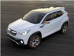 Subaru VIZIV Future Concept 2015 вид спереди сверху