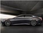 Lexus LF-FC 2015 вид сбоку
