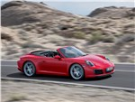 Porsche 911 Carrera S cabrio 2016 вид сбоку