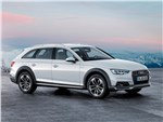 Audi A4 allroad quattro 2016 вид спереди