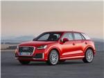 Audi Q2 - Audi Q2 0017 видимость спереду сбоку