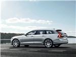 Volvo V90 - Volvo V90 Estate 2017 вид сбоку сзади